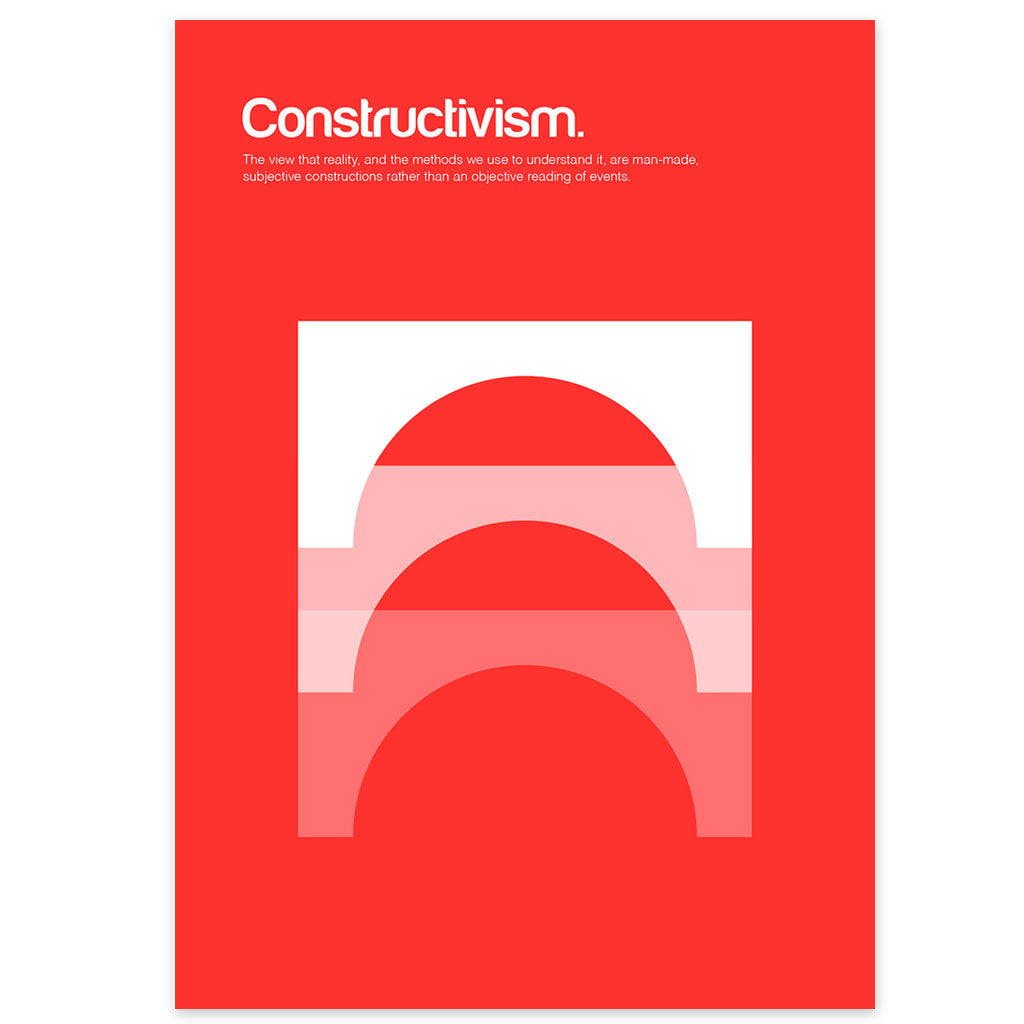 Constructivism Graphic Art Print