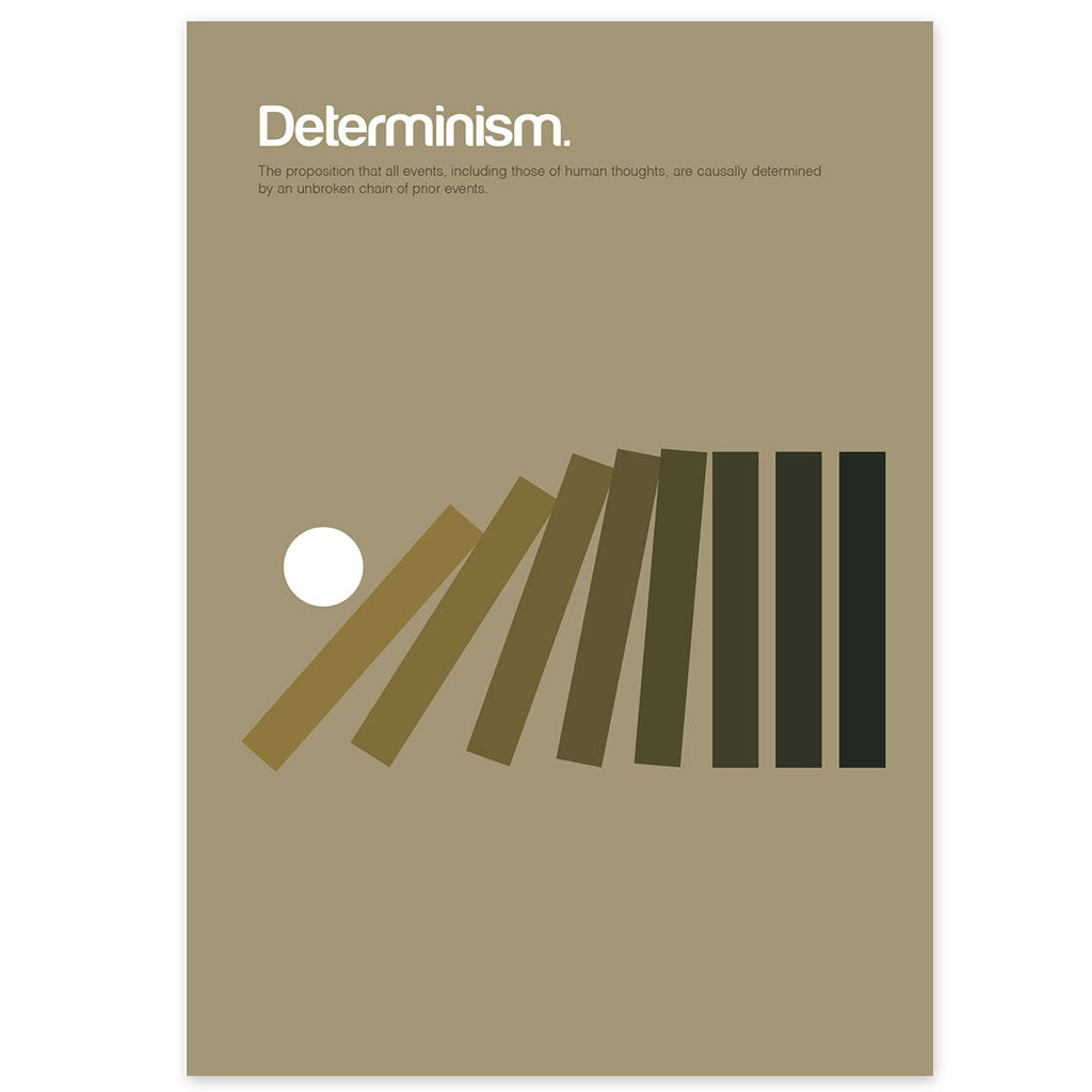 Determinism Graphic Art Print