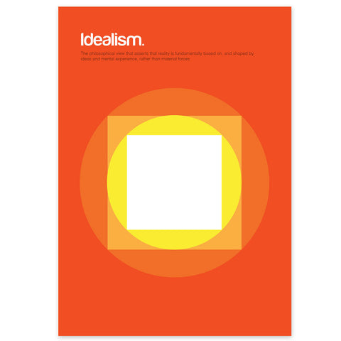 Idealism Graphic Art Print