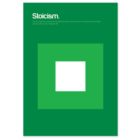 Stoicism Graphic Art Print