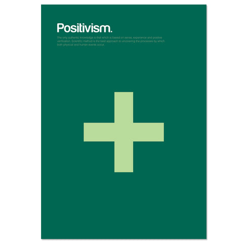 Positivism Graphic Art Print