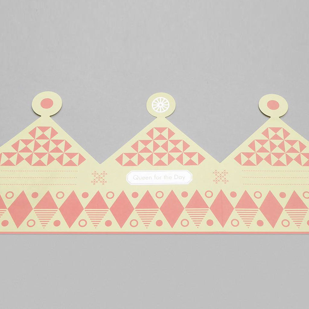 Queen For the Day Crown Card