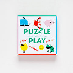 Puzzle Play - Five Jigsaws to Learn and Play