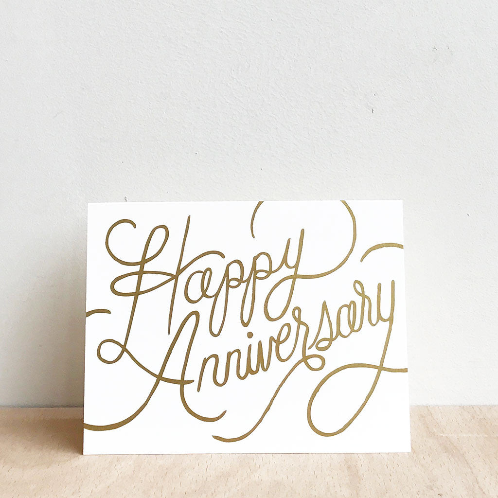 happy anniversary greetings card materialshop