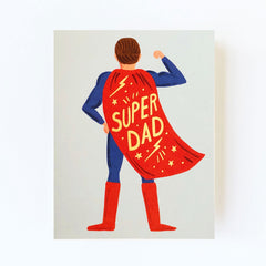 Super Dad Greetings Card