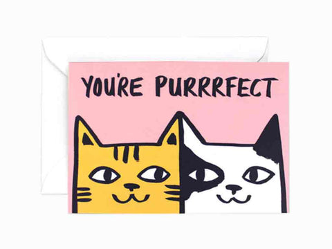 Wrap You're Purrrfect gift card