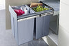 Hafele Pull-Out Waste Bin 40 Litres