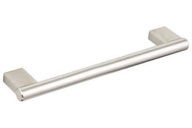 Hafele Brushed Stainless Steel Bar Handle 128-792 mm Hole Centres 150-814 mm Length
