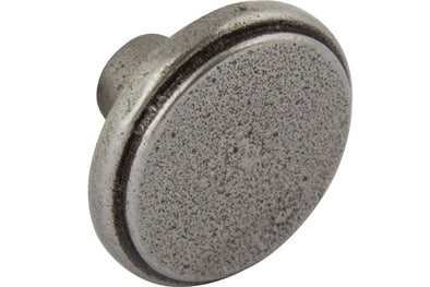 Hafele Fairfax Cast Iron 38mm Cabinet Knob