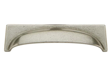 Hafele Cast Iron Cup Cabinet Handle 96 mm Hole Centres