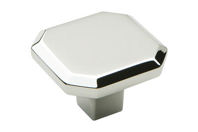 Hafele Corbusier Polished Chrome Kitchen Knob