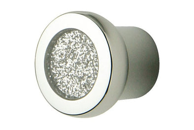 Hafele Glitter Polished Chrome 24mm Diameter Cabinet Knob