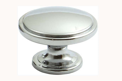 Hafele Henrietta Polished Chrome Finish 38mm Cabinet Knob