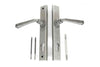 From the Anvil Avon Slimline Lever Espag. Lock Set - Pewter Patina