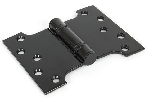 "From the Anvil 4''x3"" Ball Bearing Parliament Hinge SS (pair) - Black"