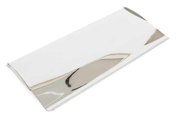 From the Anvil Polished Chrome Small Letterplate Cover