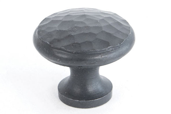 From the Anvil Beeswax 30mm. Beaten Cupboard Knob