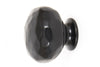 From The Anvil Black Hammered Knob - Small