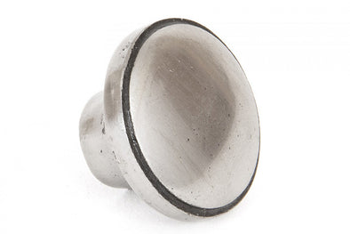 From The Anvil Natural Smooth Ribbed 32mm Cabinet Knob