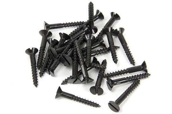 "From the Anvil 6 x 1"" Countersunk Screws - Black"