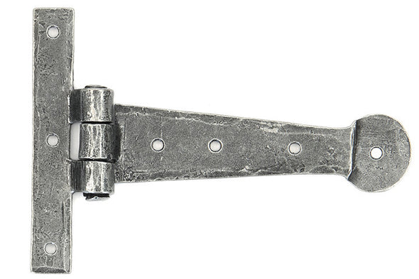 From the Anvil Pewter 6'' T Hinge (pair)