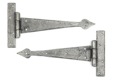 From the Anvil Pewter 9'' Arrow Head T Hinge (pair)