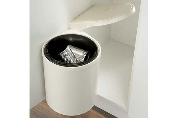 Hafele Swing-out Cream Waste Bin 10 litres