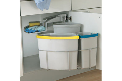 Oeko Centre swing out waste bin 40 litres