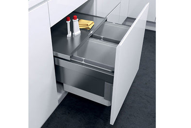 Hafele Oeko Liner Pull-Out Waste Bin For 500 Mm Cabinet Width