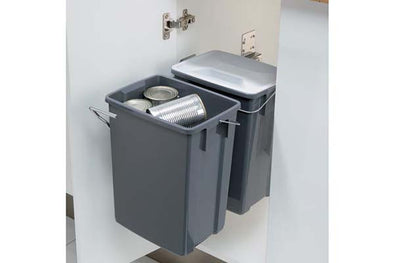 Hafele Recycling Pull-Out Bins 20 Litres