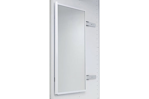 Wardrobe Pull-Out Mirror 1155x305mm Alu