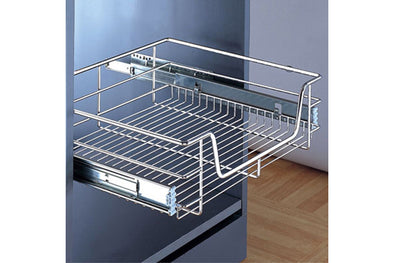 Wire Pull-out Basket 800mm Chrome
