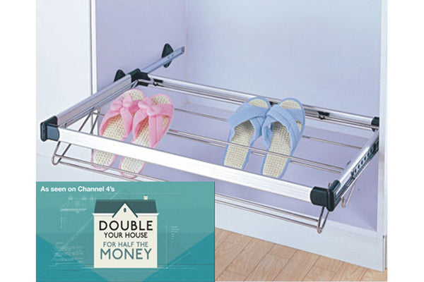 Bedroom Pull-out Shoe Rack 900mm