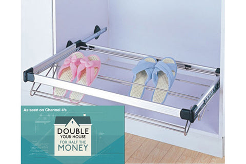 Bedroom Pull-out Shoe Rack 1000mm