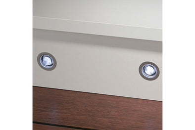 LED Plinth/Deck 30mmD lights 12v/0.24w W