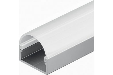 Aluminium profile, surface mounting