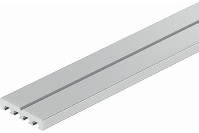 Loox cooling bar for leading heat away from 12V and 24V LED strip lights