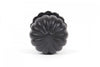 From The Anvil Black Flower Cabinet Knob With Base 38mm