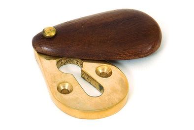From the Anvil Rosewood Plain Escutcheon