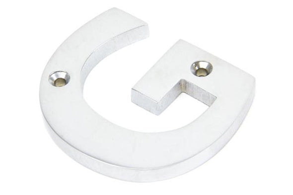 From the Anvil Satin Chrome Letter 'G'