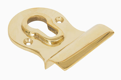 From the Anvil Polished Brass Euro Door Pull