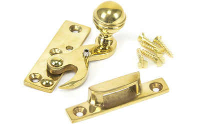 From the Anvil Polished Brass Standard Hook Fastener