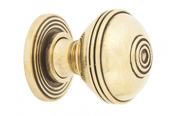 From The Anvil Aged Brass Prestbury Cabinet Knob 32mm