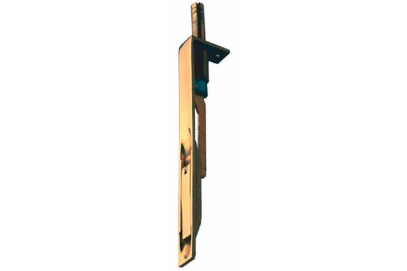 Flush Bolt Brass Sat Np 203x19mm