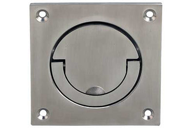 Sq Court Flush Ring Handle Snp
