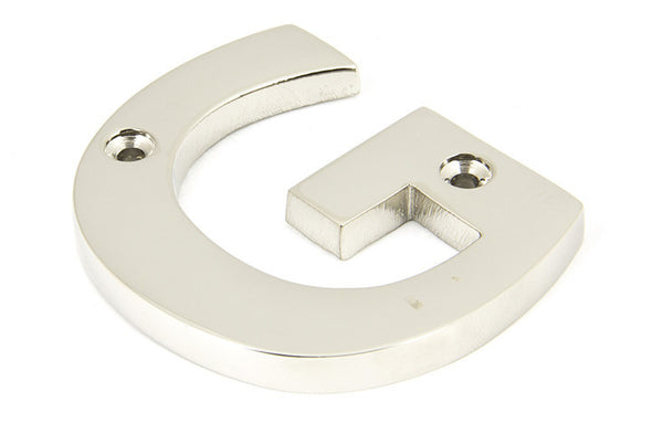 From the Anvil Polished Nickel Letter 'G'