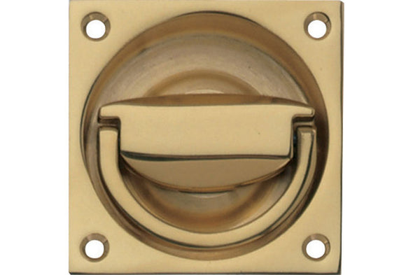Flush Ring Handle Sat.ni. Bras