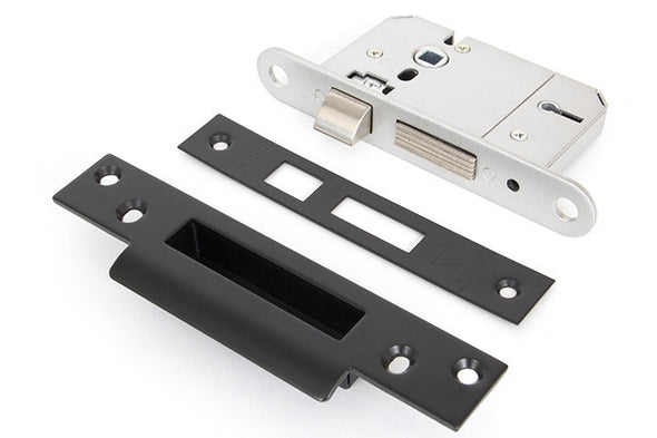 From the Anvil Black 2'' 5 Lever BS Sash Lock KA