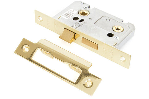 From the Anvil Electro Brassed 2'' Bathroom Mortice Lock