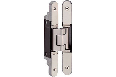 TE240 3D Hinge Matt nickel 155x50.7x27mm